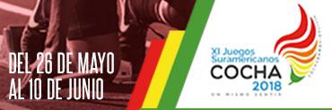 Juegos Suramericanos Cochabamba