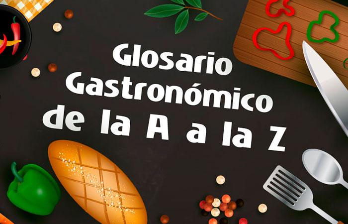 Glosario Gastronómico