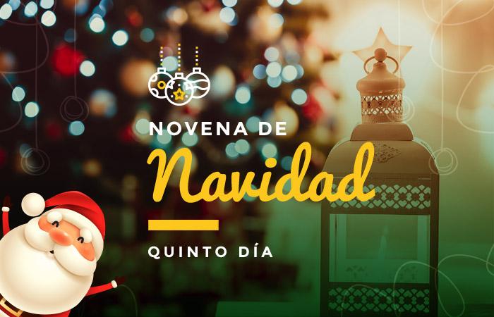 quinto día de la novena: el 20 de diciembre