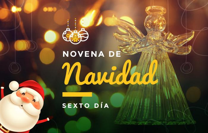 sexto día de la novena: el 21 de diciembre