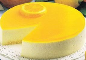 Tarta de requesón y limón