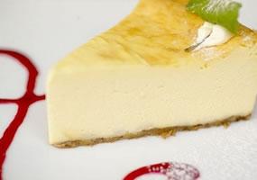 Torta de queso y Baileys
