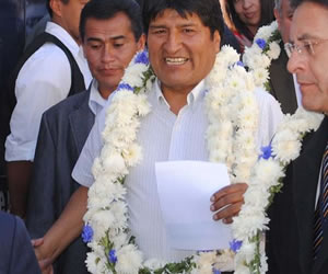 Morales inauguró instalaciones del (SEGIP)
