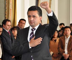Derechos humanos expulsa a Sacha Llorenti