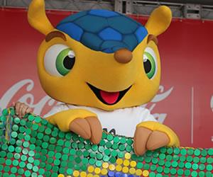 Es presentada la mascota oficial del Mundial