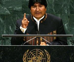 Morales exaltará logros del programa Mi Agua, ante la ONU