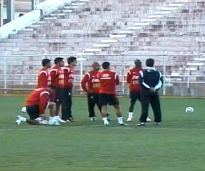 Selección de Perú termina su preparación en Cusco