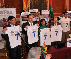 """Lanzan campaña para que La Paz sea una de las """"ciudades maravillosas"""""""