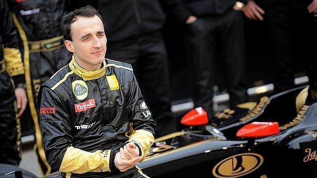 El piloto polaco Robert Kubica. Foto: EFE