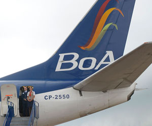 BOA inaugurará ruta Bolivia - España el 7 de diciembre
