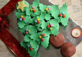 Torta árbol de navidad