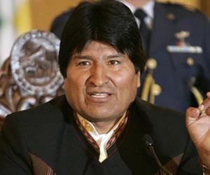 Morales afirma que demanda contra Chile está casi lista