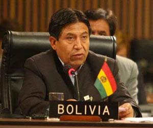 Ingreso a Mercosur es una opción frente a enclaustramiento: Choquehuanca