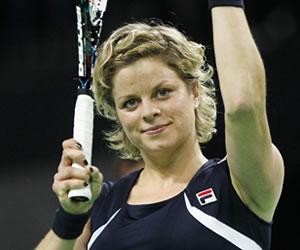Kim Clijsters se despide en casa de la actividad profesional