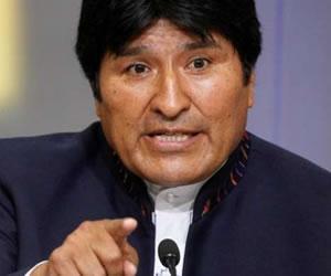 Morales pide presentar al papa quejas sobre 'ataques' políticos de obispos
