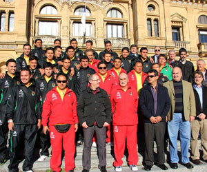 Bolivia se encuentra en San Sebastián esperando encuentro con el equipo vasco