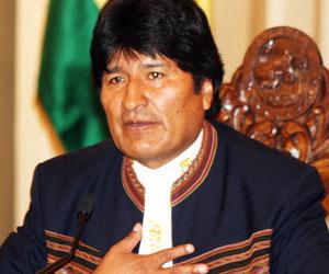En 2013, Evo Morales pide al pueblo boliviano, fortaleza y trabajo conjunto