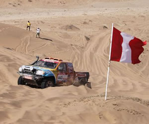 Implementan señalización en el Rally Dakar para evitar daños paleontológicos