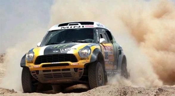 Rally Dakar en Sudamérica. Foto: EFE