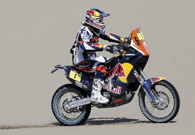 López gana de nuevo pero Despres lidera las motos del Dakar