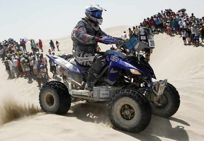 Vibrante tercer día del Rally Dakar en Perú