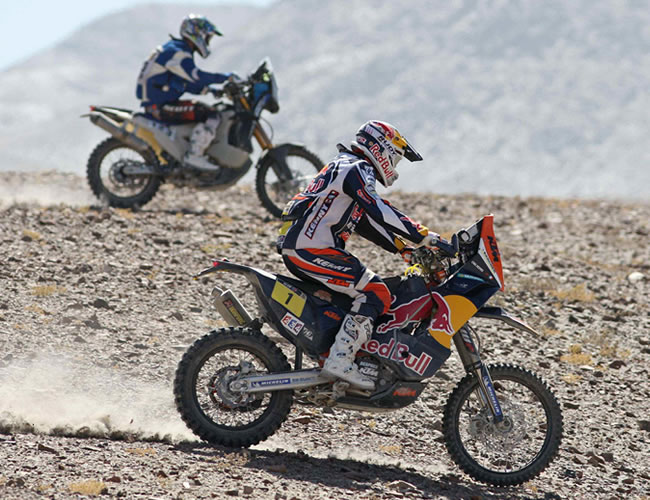 El Rally Dakar sale de Perú con destino a Chile