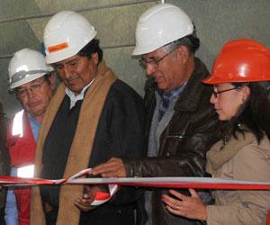 Evo Morales convoca a empresarios a crear más industrias