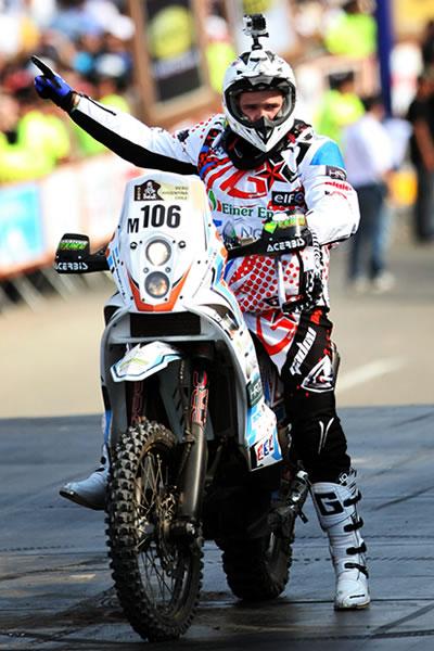 El motociclista francés Thomas Bourgin. EFE