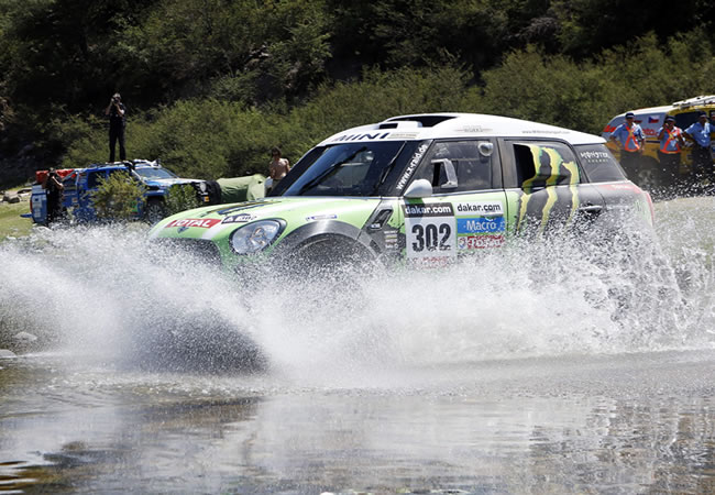 El argentino Terranova gana la décima etapa del Dakar