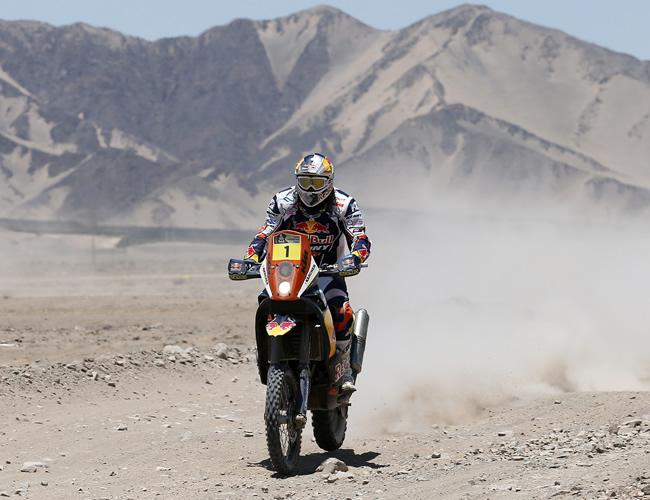 Despres sigue de líder en el regreso del Dakar a Chile