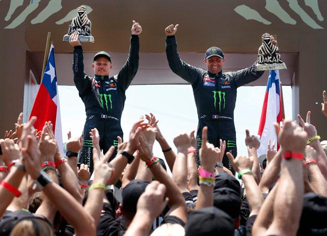 El Rally Dakar 2013 cierra con fiesta en Santiago