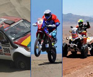 Salvatierra puesto 29, Bulacia 46 y Martínez 26 al terminar el Dakar 2013