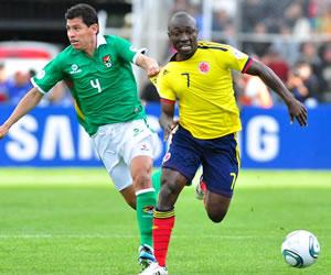 Colombia recibirá a Bolivia en Barranquilla