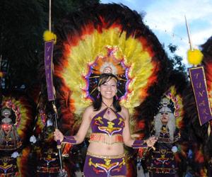 Dan inicio a los festejos por el carnaval en Cochabamba