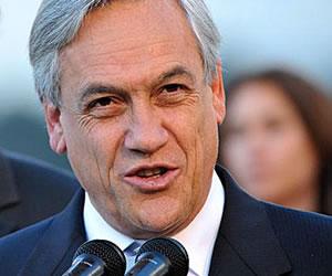 Piñera acepta invitación para hacer trayecto del tren Arica-La Paz