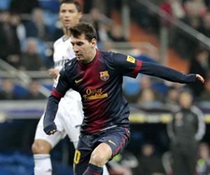 Messi no pudo anotar ni romper récord en el derbi