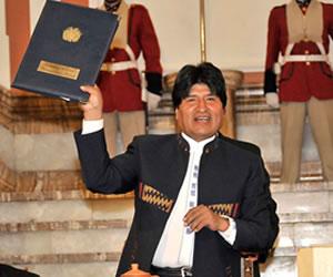 Morales promulga Ley de Delimitación de Unidades Territoriales