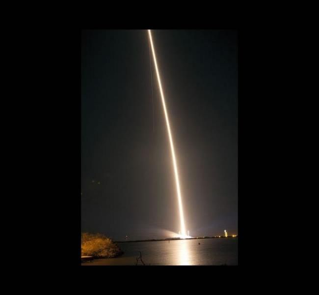 Un cohete ruso-ucraniano cae en el Océano Pacífico