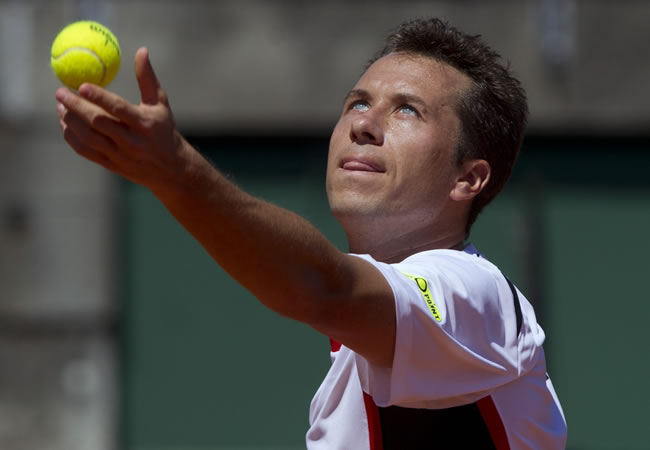 El tenista alemán Philipp Kohlschreiber. Foto: EFE