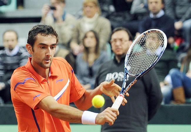 El tenista croata Marin Cilic. Foto: EFE