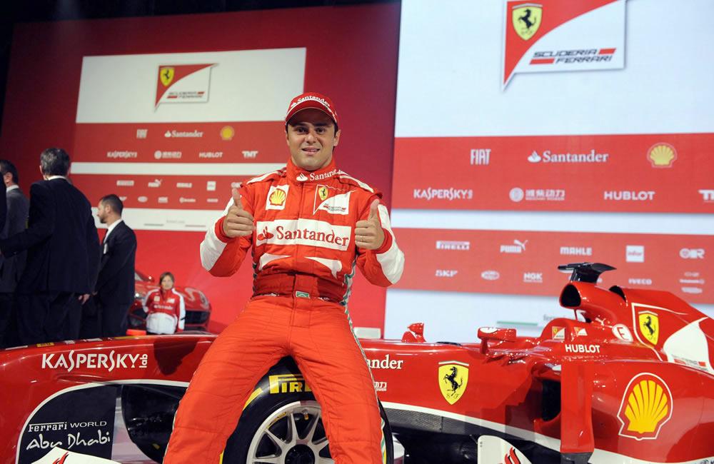El piloto brasileño Felipe Massa. EFE