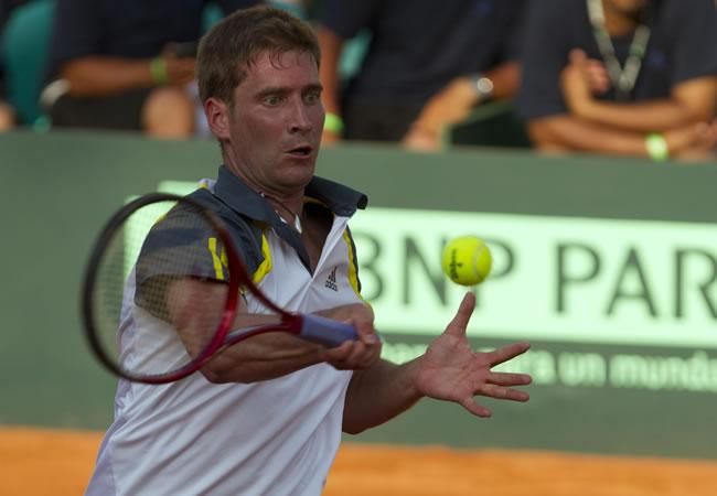 El tenista alemán Florian Mayer. Foto: EFE