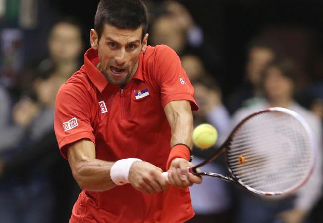 El tenista serbio Novak Djokovic. Foto: EFE