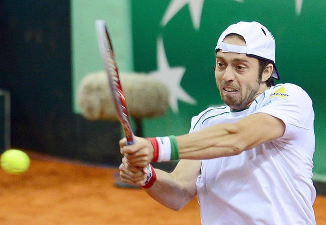 El tenista italiano Paolo Lorenzi. Foto: EFE