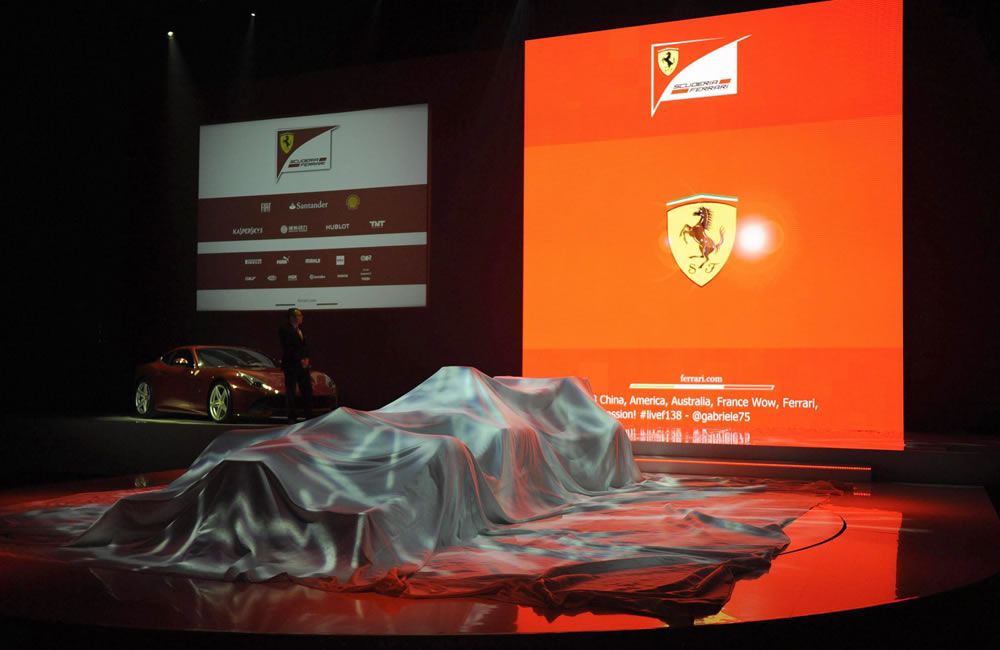 Presentación de Ferrari F138. EFE