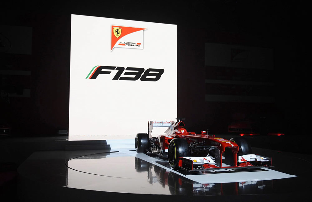 El monoplaza Ferrari F138. EFE