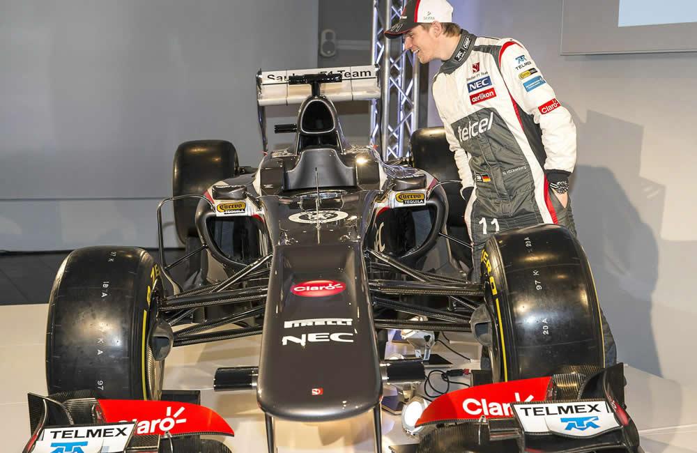 El piloto de la escudería de Sauber Nico Huelkenberg. EFE