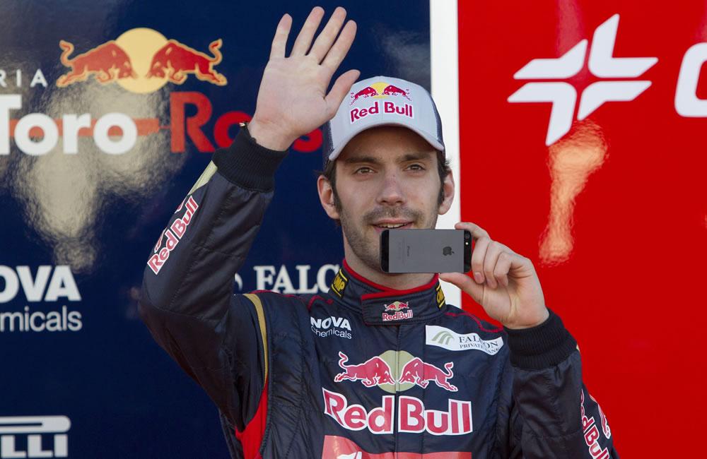 El piloto de Toro Rosso Jean-Éric Vergne. EFE