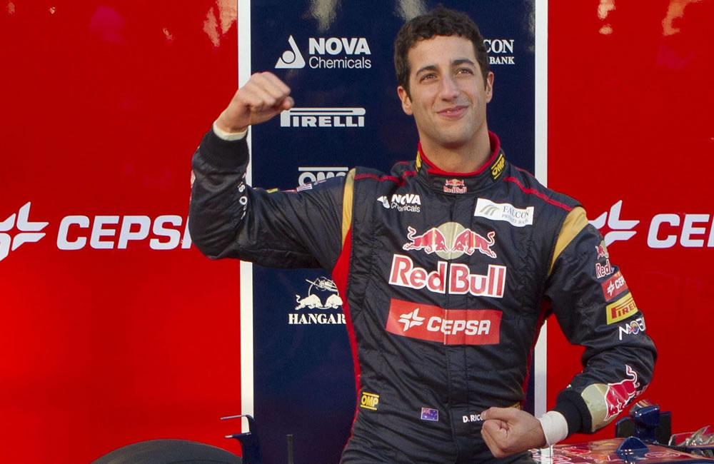 El piloto de Toro Rosso Daniel Ricciardo. EFE