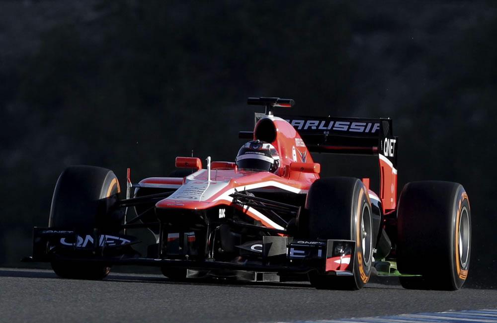 Marussia y Caterham presentan en el circuito de Jerez su nuevos monoplazas